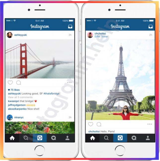 как загружать фото в инстаграм