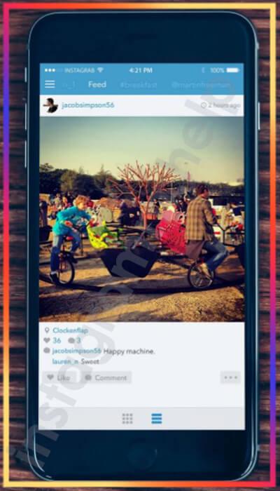 как скопировать ссылку в инстаграме на свой профиль с телефона андроид