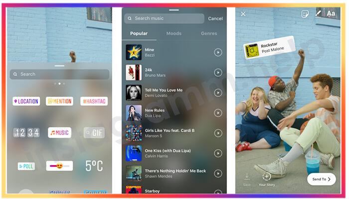 как наложить музыку на видео в инстаграме с айфона бесплатно