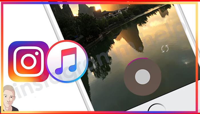 как наложить музыку на видео в инстаграме с андроида